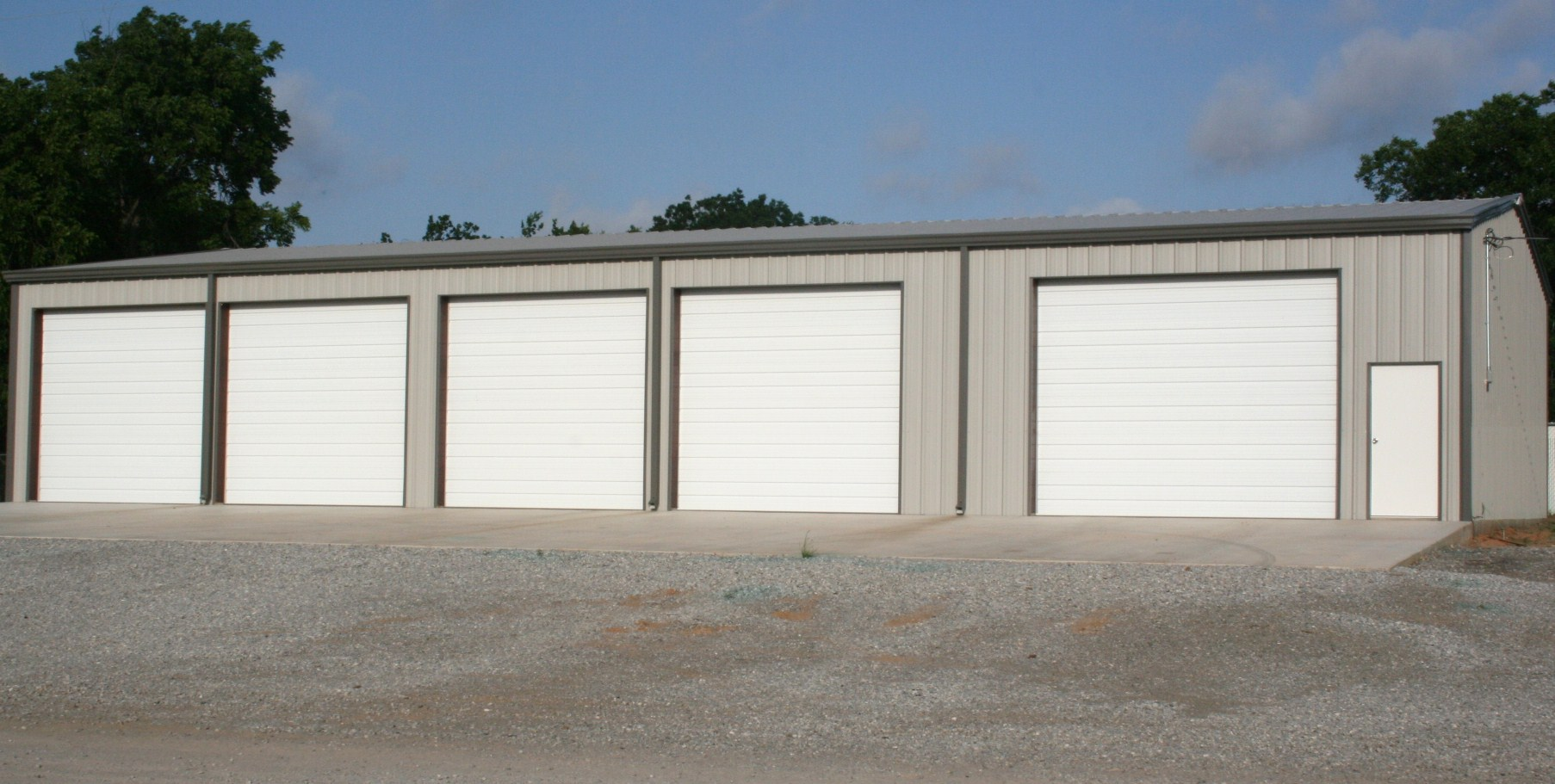 911 #486383 Metal Buildings wallpaper Steel Building Garage Doors 26651806